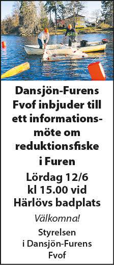 Informationsmöte om reduktionsfiske